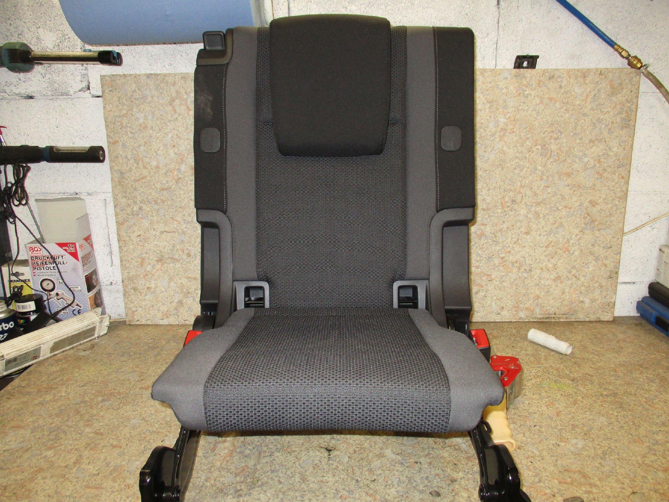 5qa885305 original vw touran 5t einzelsitz 3 sitzreihe. Black Bedroom Furniture Sets. Home Design Ideas
